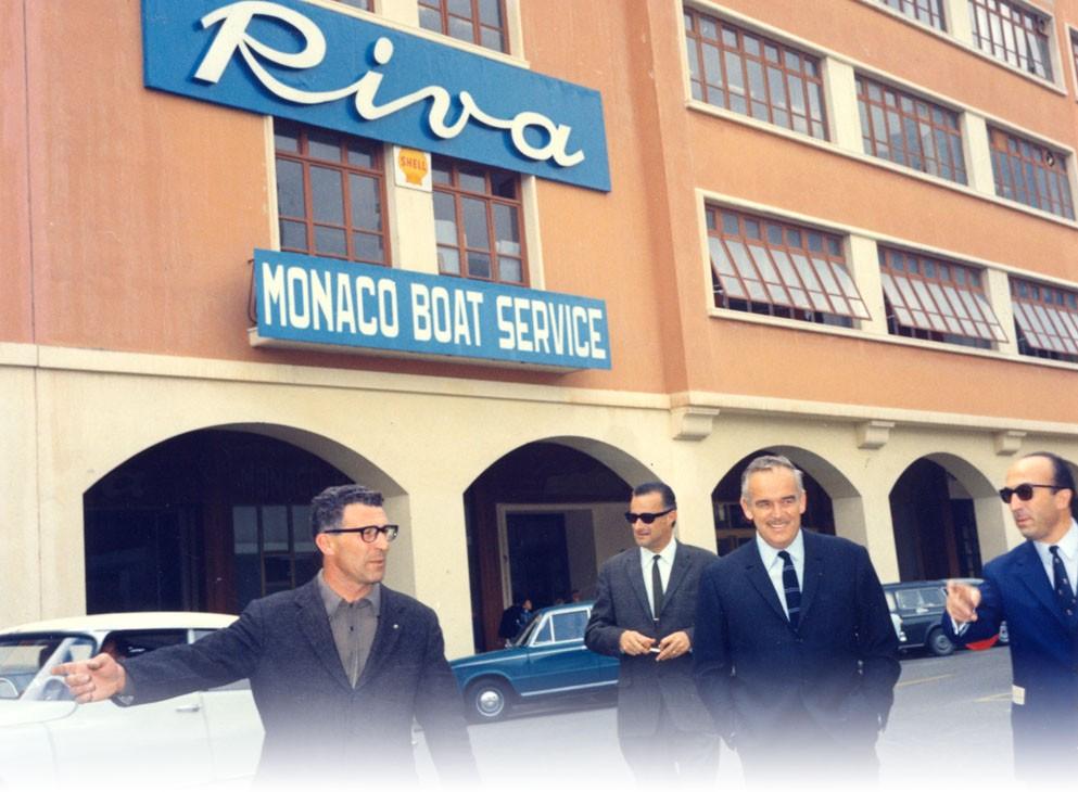 1959Inauguration par le Prince Rainier III du nouveau concept